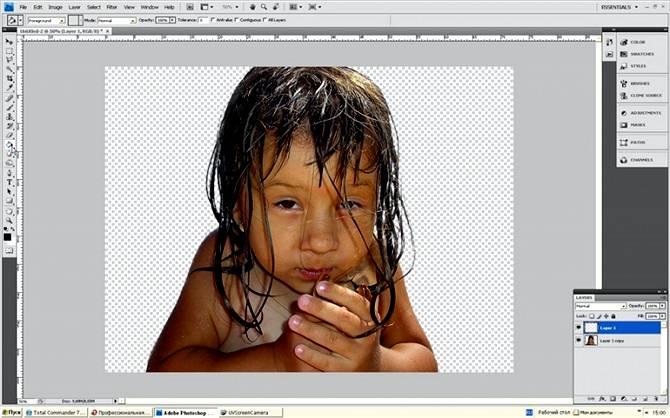 Как вырезать объект с использованием RGB каналов в Фотошопе