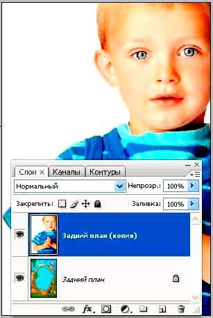 Использование свободной трансформации в Фотошопе