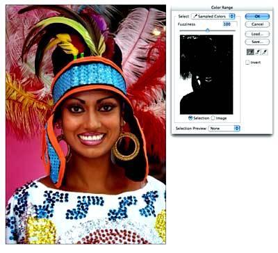 Как выделять сложные объекты в Фотошоп - волосы, перья, деревья