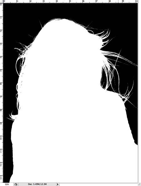 Два варианта выделения волос в Фотошопе