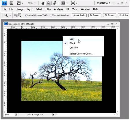 Техники работы в Фотошопе
