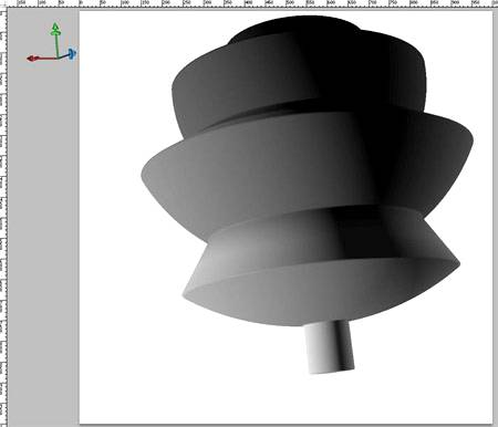 Создание сложных 3D объектов в Фотошопе