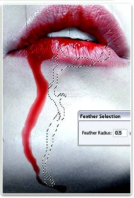 Рисуем реалистичную кровь используя Фотошоп