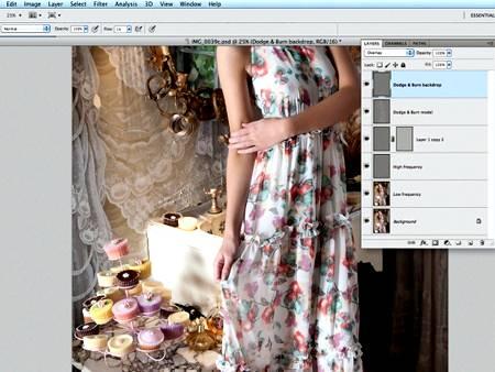 Ретушь изображений в Фотошопе методом частотного разложения