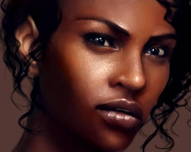 Рисуем идеальную кожу, создаем реалистичный портрет в Фотошопе