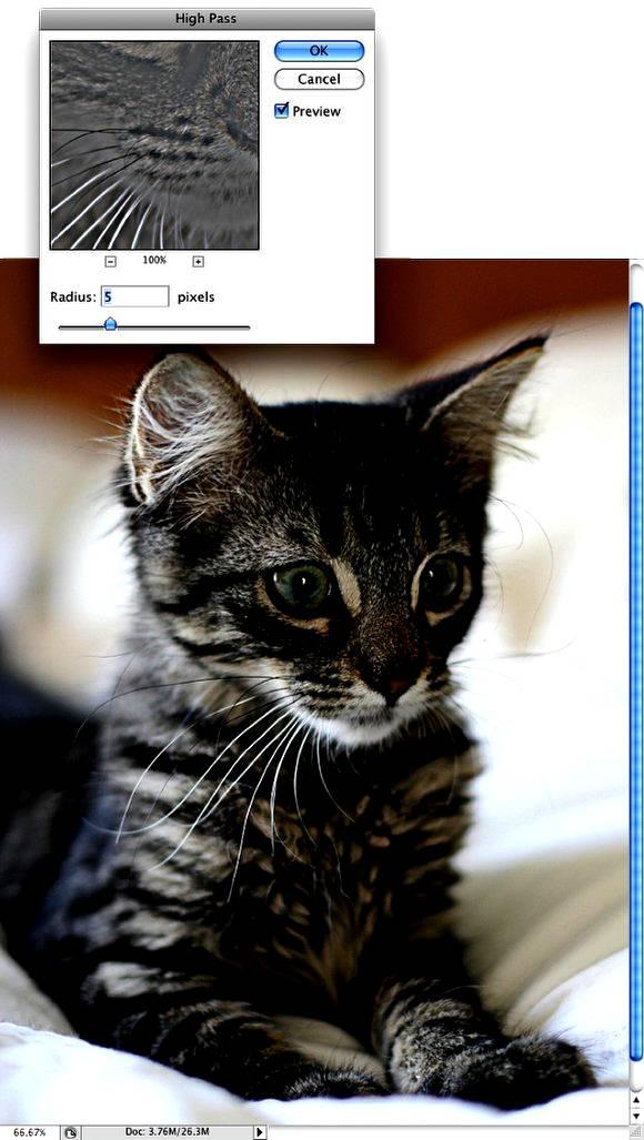 Улучшение качества фотографии через High Pass в Фотошопе