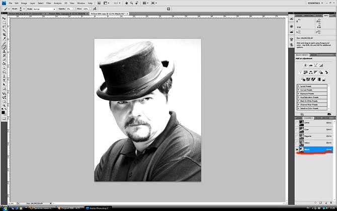 Ретушь мужского портрета, постобработка и цветокоррекция в Фотошопе