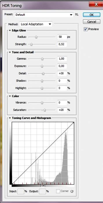 Создаем HDR-эффект в Photoshop CS5, а так же псевдо HDR Toning