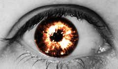 Создаем эффект огненных глаз на фото