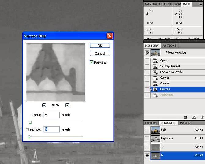 Улучшение плохих фото в LAB, коррекция цвета и шумов