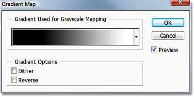 Инструмент Карта Градиента (Gradient Map) в Фотошопе.