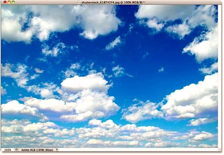 Фото, которое будет заменять небо у оригинала изображения.