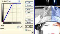 Инструмент для коррекции фотографий - «Кривая»