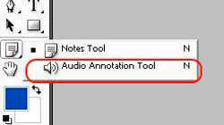 Инструменты звуковая аннотация (Annotation) и заметки (Notes)
