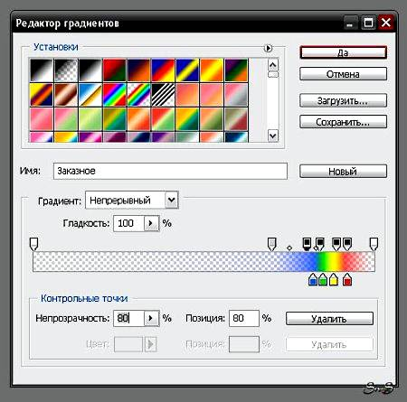 Как создать стиль, узор, градиент в Фотошопе