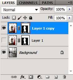 Как выделить и перенести на другой фон в Photoshop CS5