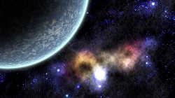 Рисуем космос и планету