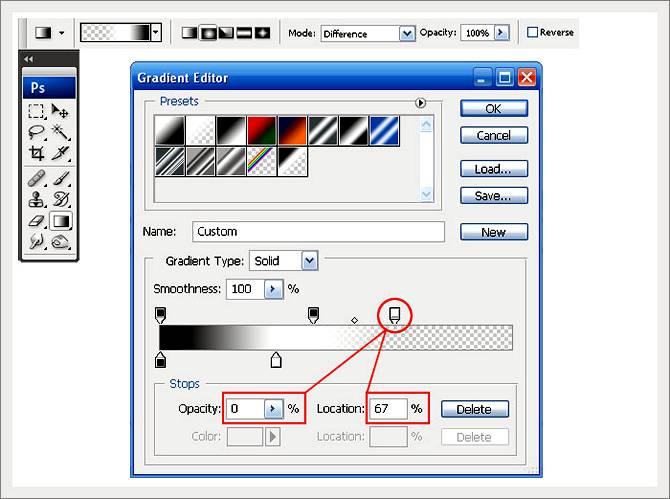 Как сделать поверхность мятой на вид в Фотошопе
