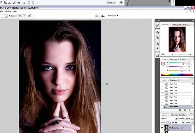 Ретушь RAW файлов в Фотошопе: От и До