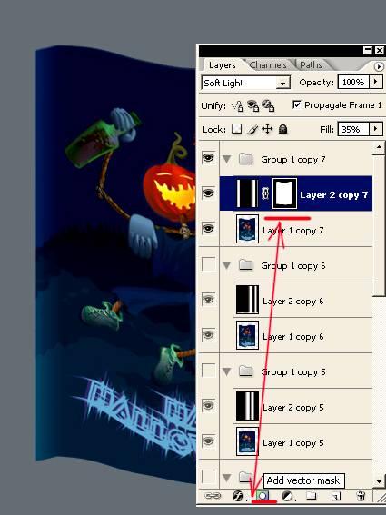 Создаем анимационное движения ткани (флаг на ветру) используя Фотошоп