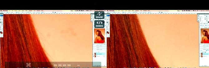 Фоторетушь волос в Фотошопе