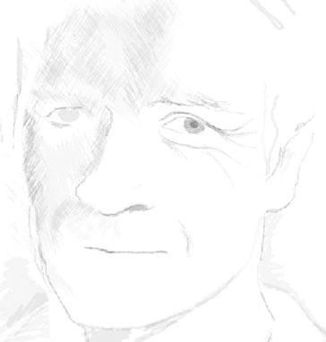 Правдоподобная стилизация под рисунок карандашом в Фотошопе