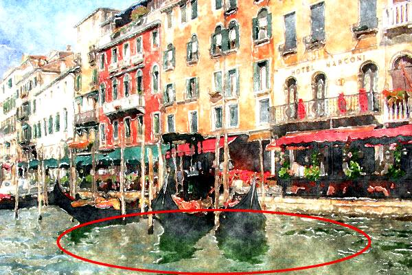 Создаем акварельный рисунок из фотографии используя Фотошоп