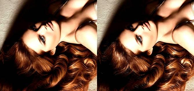 Создаем роскошный блеск волос используя Фотошоп