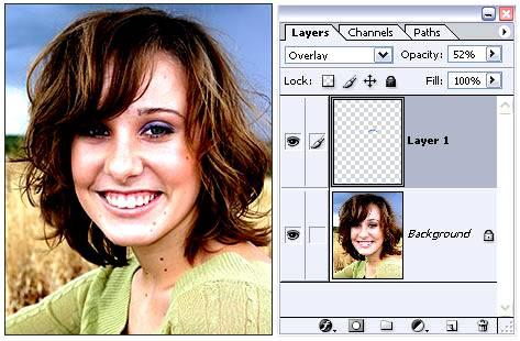 Неразрушающее редактирование изображения в Фотошоп