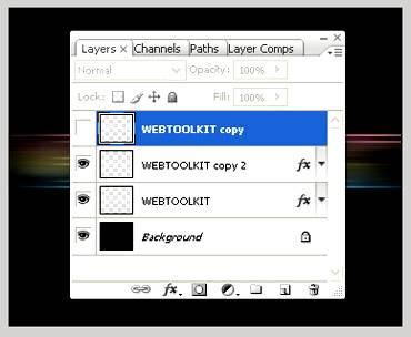 Создаем простой текстовый эффект с градиентом используя Фотошоп