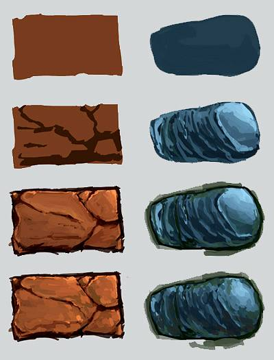 Рисуем каменную кладку, быстрые камни и стены в Фотошопе