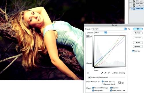 Обработка фотографий в винтажном ретро стиле при помощи Фотошопа