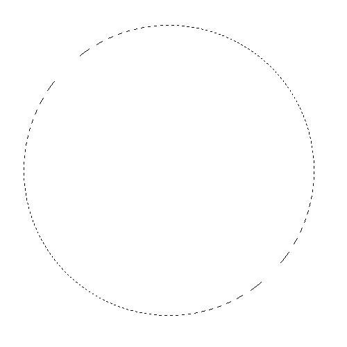 Выделение в виде круга (Photoshop CC)