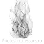 Кисти в виде огня для Фотошопа - кисть 2