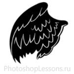 Кисти в виде крыльев ангела для Фотошопа - кисть 11