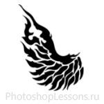 Кисти в виде крыльев ангела для Фотошопа - кисть 3