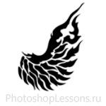 Кисти в виде крыльев ангела для Фотошопа - кисть 4