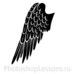 Кисти в виде крыльев ангела для Фотошопа - кисть 5