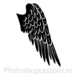 Кисти в виде крыльев ангела для Фотошопа - кисть 6