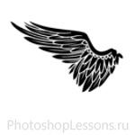 Кисти в виде крыльев ангела для Фотошопа - кисть 9