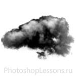 Кисти в виде облаков для Фотошопа - кисть 13