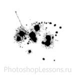 Кисти в виде брызг крови для Фотошопа - кисть 2