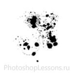 Кисти в виде брызг крови для Фотошопа - кисть 19