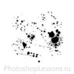 Кисти в виде брызг крови для Фотошопа - кисть 10