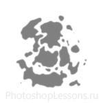 Кисти в виде клякс для Фотошопа - кисть 2