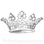 Кисти: короны для Фотошопа - кисть 100