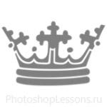 Кисти: короны для Фотошопа - кисть 101