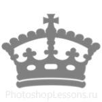 Кисти: короны для Фотошопа - кисть 102