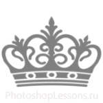 Кисти: короны для Фотошопа - кисть 105