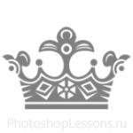 Кисти: короны для Фотошопа - кисть 106